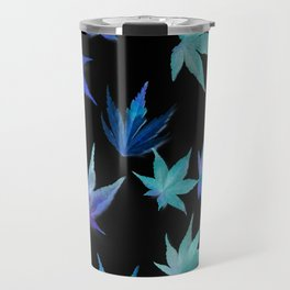 AUTUMN ROMANCE - LEAVES PATTERN #1 #decor #art #society6 Travel Mug
