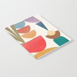 Modern Abstract Art 74 Notebook