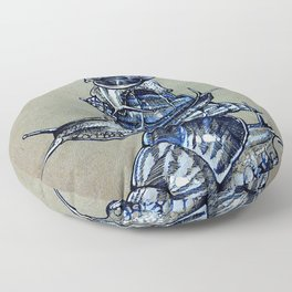Snail Stack Floor Pillow