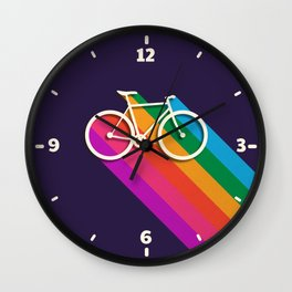 Let's go for a ride - bike no2 Wall Clock