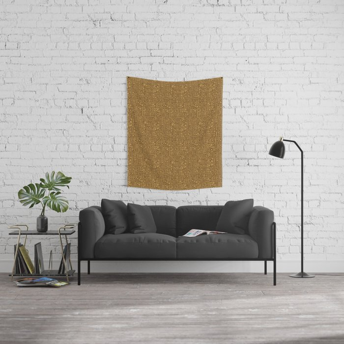 Ornament ethnic Wall Tapestry