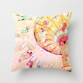 Joy Ride... Throw Pillow