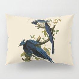 Columbia Jay Illustration by J.J. Audubon Pillow Sham