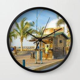 La Libertad Ciyt Malecon, Santa Elena, Ecuador Wall Clock