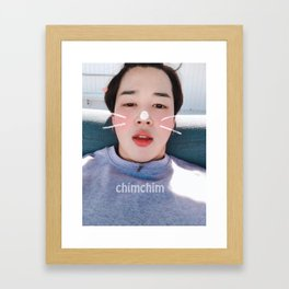 BTS Chim Framed Art Print