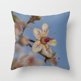London Pride Flower Throw Pillow