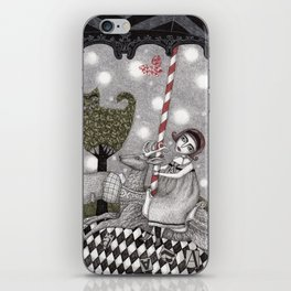 A is for Alice iPhone Skin