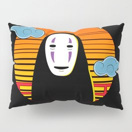 No Face a Lonely Spirit Pillow Sham