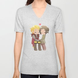 Dragon Age - Cullen and Inquisitor [Commission] Unisex V-Neck