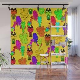 Yellow Clown Wall Mural