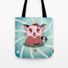 Anime Kitty - Hime Tote Bag