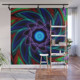 Whirled Star Wall Mural