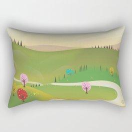 Armenia Travel poster. Rectangular Pillow