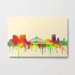 Winnipeg, Manitoba, Canada Skyline - SG Metal Print