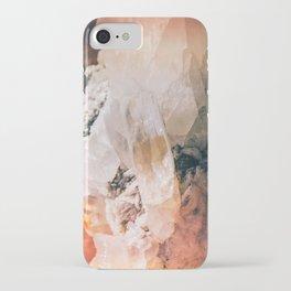 Dreamy Large Quartz Crystals iPhone Case
