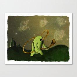 Decorando El Espacio Canvas Print