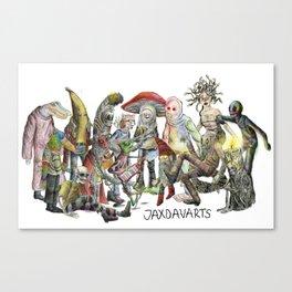 JaxDav Gang Canvas Print