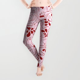 pink tax (period pattern) Leggings