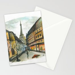 Christmas in Paris Stationery Cards