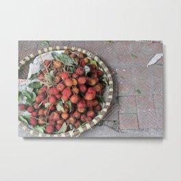 lychees Metal Print