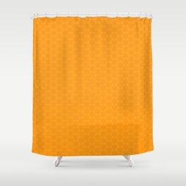 Honeycomb pattern Shower Curtain