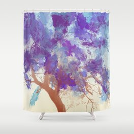 Water Your Tree of Life. Shower Curtain