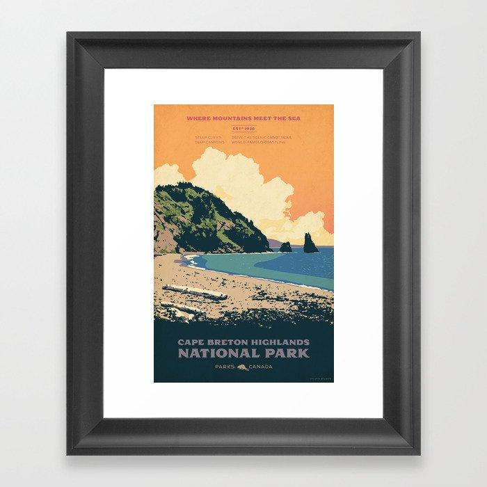 Cape Breton Highlands National Park Gerahmter Kunstdruck