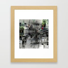 Proceeds delivered unobtrusively through hideouts. [D] Framed Art Print