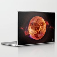 charli xcx Laptop & iPad Skins featuring Gravity Levels: Red Planet by Sitchko Igor