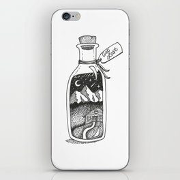 Get Lost iPhone Skin