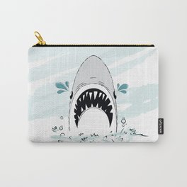 Crying Shark Carry-All Pouch