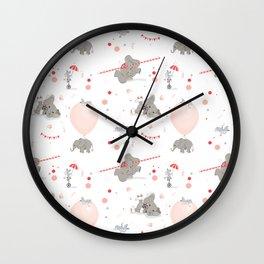 Little Elephant Wall Clock