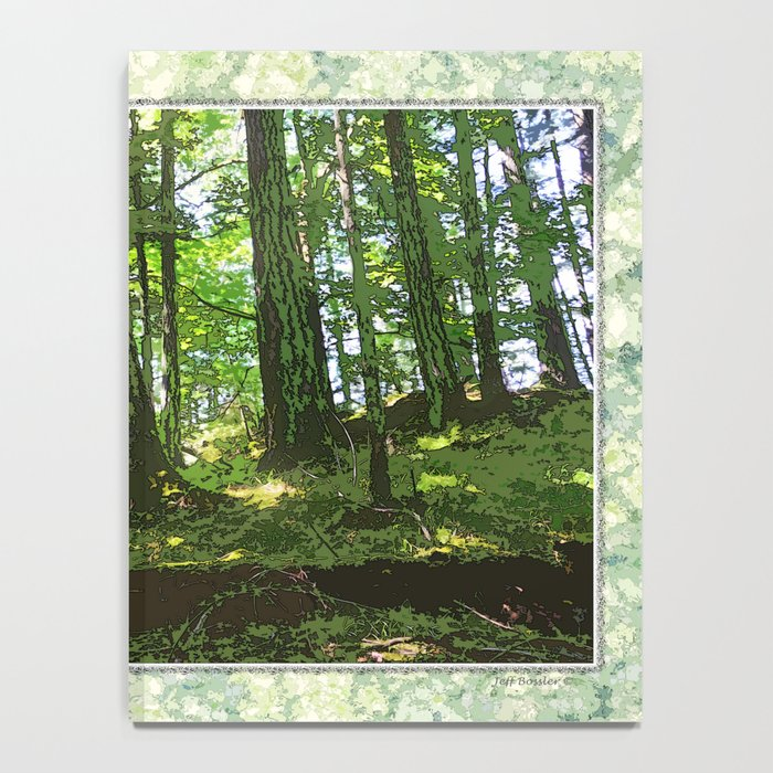 SUNNY SUMMER FOREST Notebook