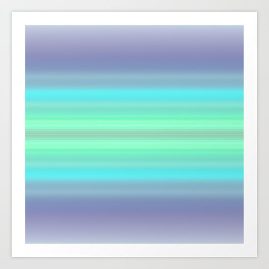 Just Some Colors Art Print