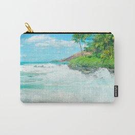 Aloha mai e Pā'ako Beach Mākena Maui Hawaii Carry-All Pouch