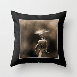 Dandelion - Vintage Throw Pillow