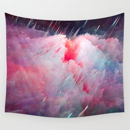 Space Unicorns Are Sounding the Sirens Wall Tapestry