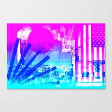 transparent flags Canvas Print