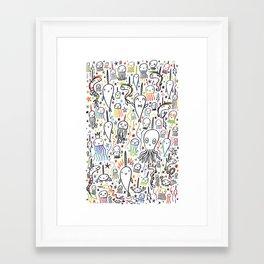 SEA-PLOSION Framed Art Print