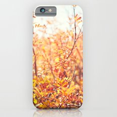 Yellow Fall Leaves Slim Case iPhone 6s