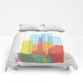 Shapes of Tel Aviv Comforters