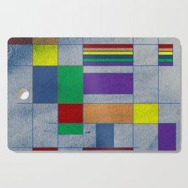 Mid-Century Modern Art - Rainbow Pride 1.0 Cutting Board