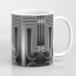 Art Deco 32 . Graffiti black and white Coffee Mug