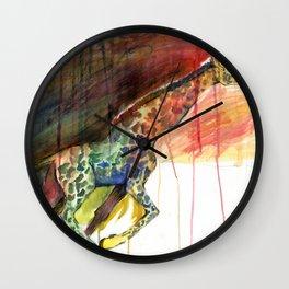 Galloping Giraffe Wall Clock