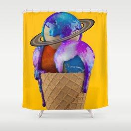 Galaxy Flavored Shower Curtain