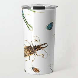 Bug Life - Beetles - Bugs - Insects - Colorful - Insect Pattern Travel Mug
