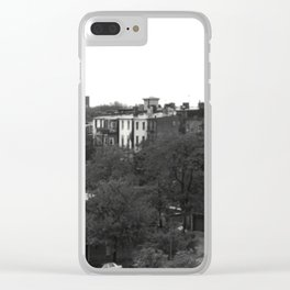 Baltimore, MD skyline temple Clear iPhone Case