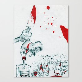 Heroin Zombies Canvas Print
