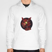 fnaf Hoodies featuring Foxy by Mash92
