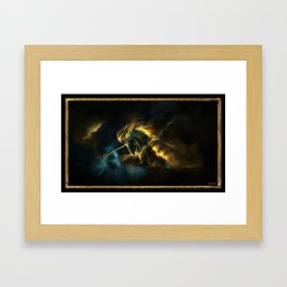 The Nebula Framed Art Print